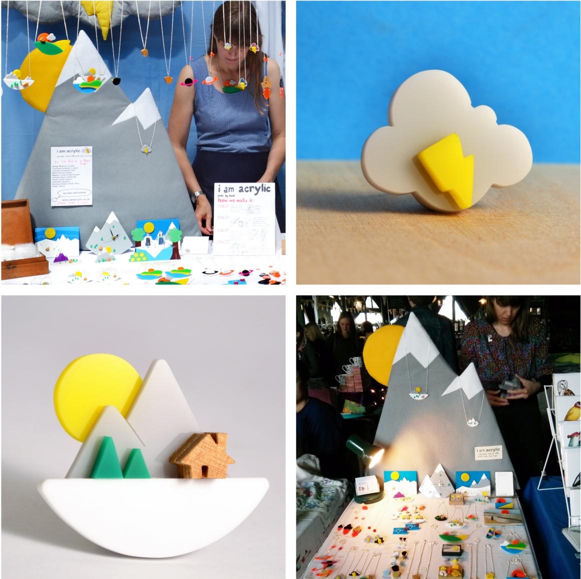 crafty fox stall proposal, stall design, I am acrylic, stall display, craft fair display advice, ideas, props