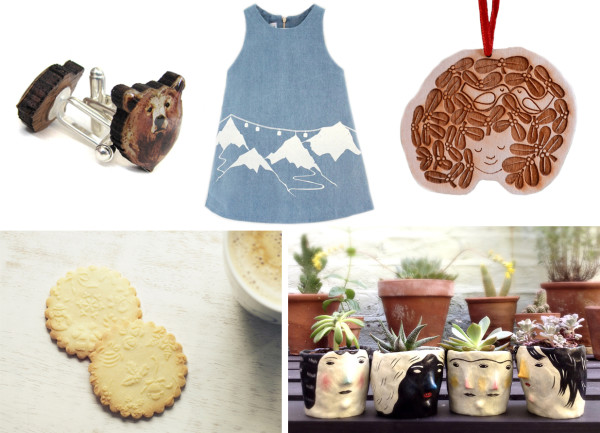 lapin blu, christmas wishlist, engraved rolling pins, snow dress, bear cufflinks