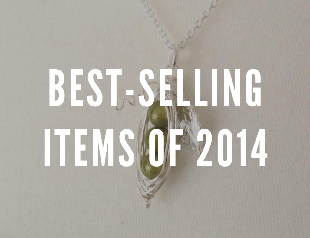 best selling items on Folksy, 2014