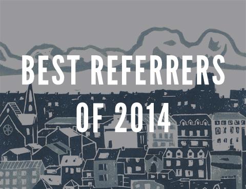 best referrers 2014