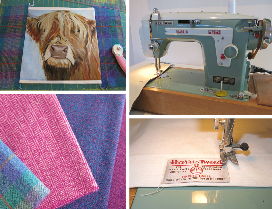 liz whiteside, New Home sewing machine