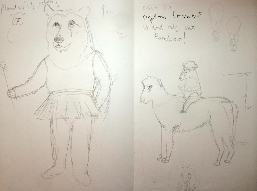 jimbob art, jimbobart, folksy, sketchbook,  illustrations, interview