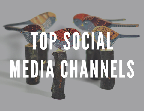 best social media channels for selling, most effective social networks, craft