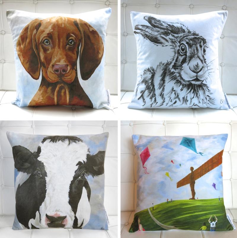 digital printing, cushions,