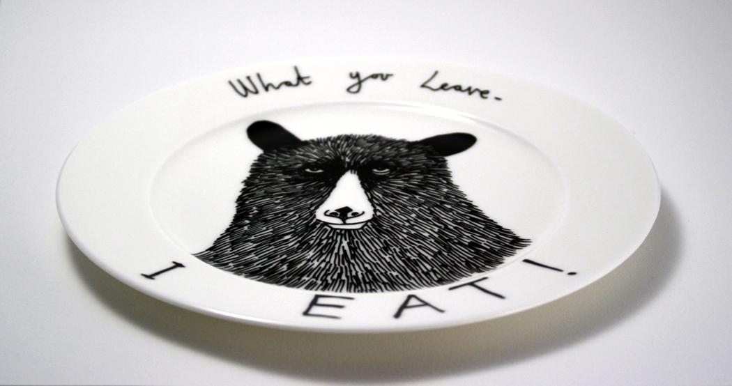 first illustration, original plate, jimbob art, jimbob,