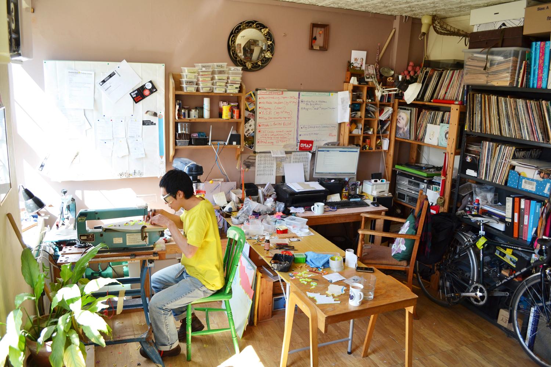 studio, jewellery studio, i am acrylic