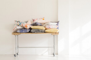 How to photograph craft: cushions