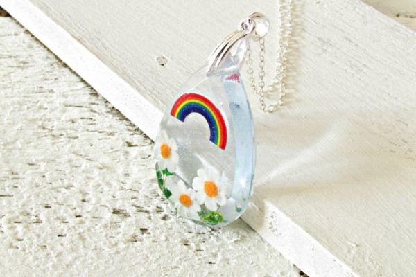 buttonsy interview, anna day, rainbow necklace