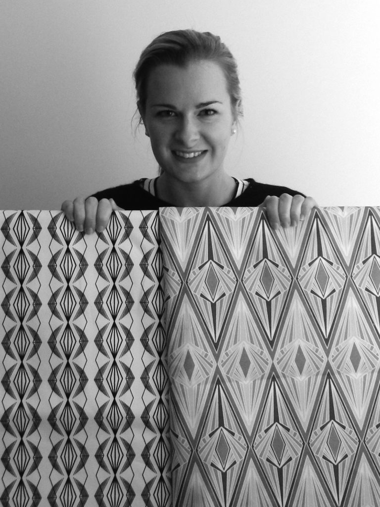 Annabel Perrin, interview, printed textiles