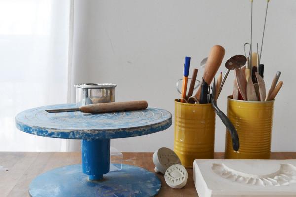A Alicia, Anna Alicia's ceramic studio