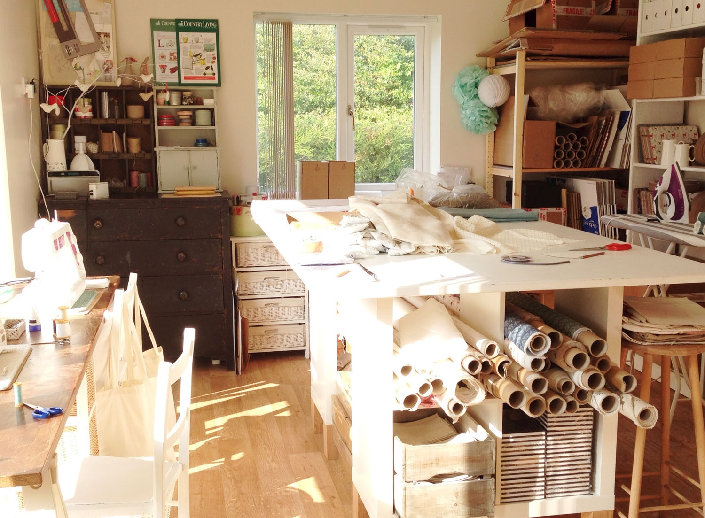 Charlotte Macey Textiles, studio, interview