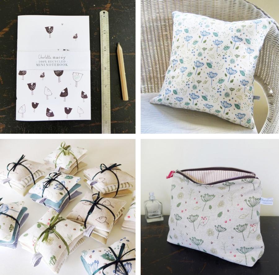 Charlotte Macey textiles, interview