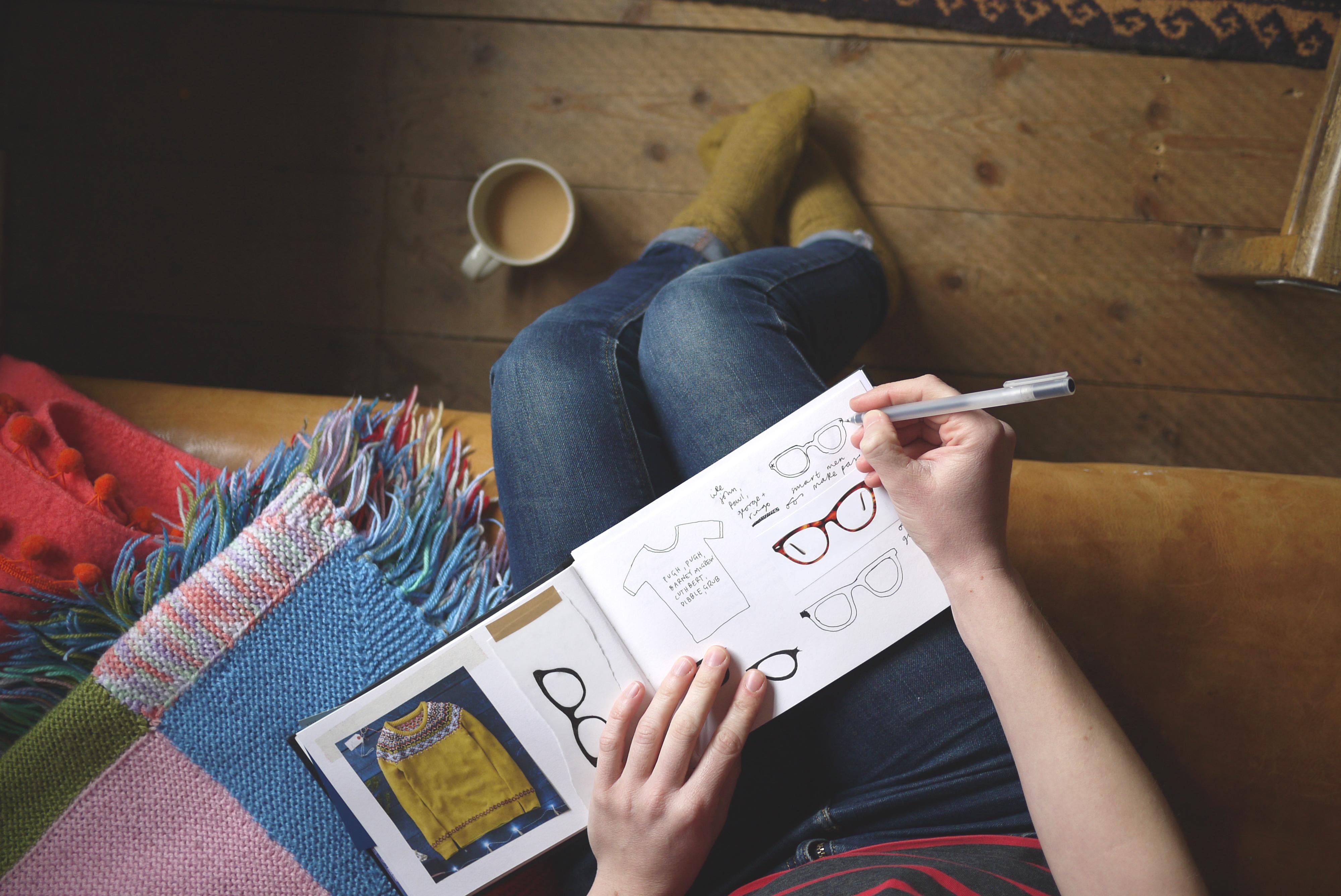 sianuska screenprinting, sketchbook