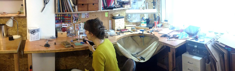 silvene jewellery, tribal jewellery, studio