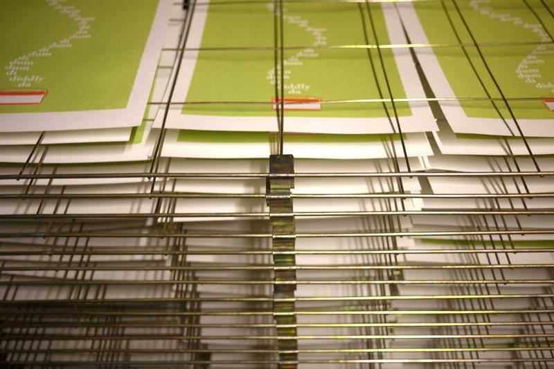 the archers, illustration, fan art, sianuska, ambridge, screen print, printmaking, drying rack