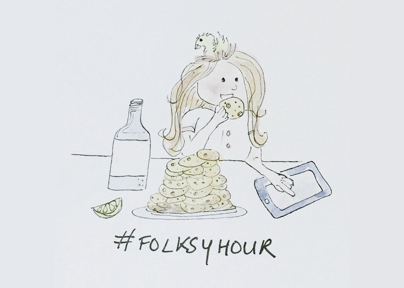 folksyhour, folksy hour, Ellie Press,