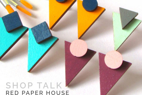 How to sell handmade jewellery online, Red Paper House, Shop Talk, interview