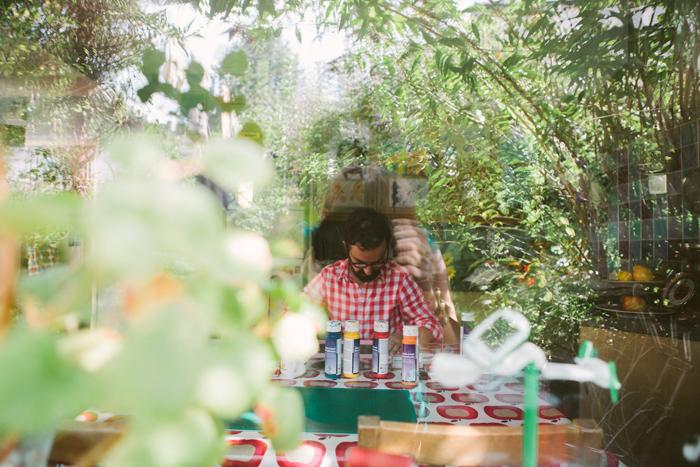 revealing craft, india hobson, photography, artist's studios, james green, linoprint, lino cut, lino printing