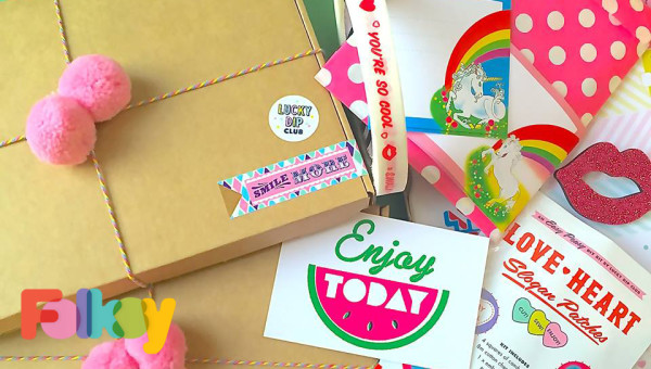 Lucky Dip Club, Folksy, Collaboration, Hello Dodo, special edition box