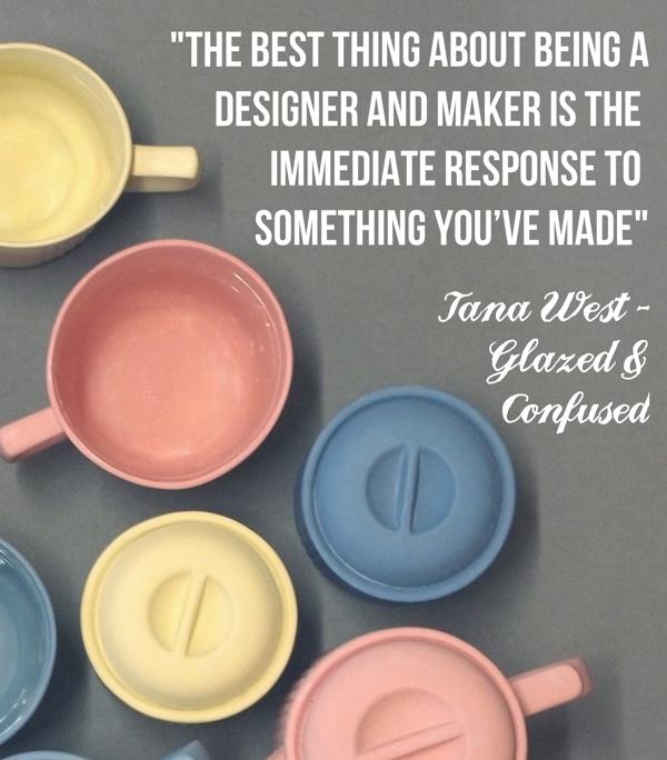 glazed and confused ceramics, British ceramics, pastel teapot, craft