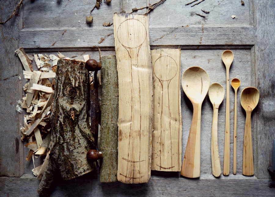 I swapped modernity for a simple life making spoons