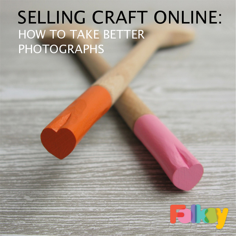 how to take better photographs of craft, love spoons, product photography tips,
