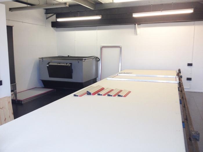screen printing table