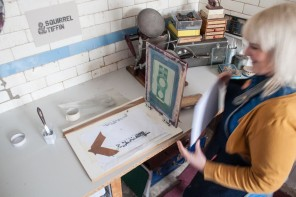 More Folksy designers and crafters in their studios