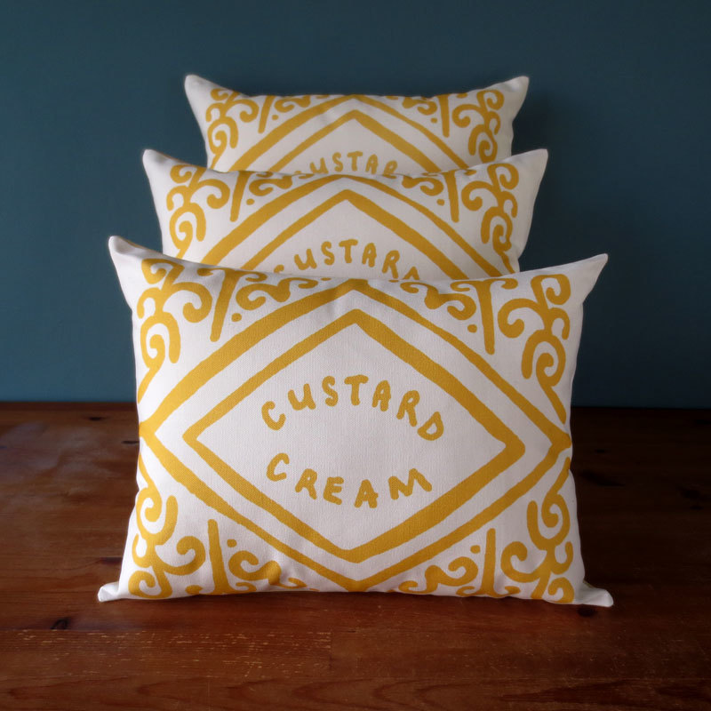nikki mcwilliams custard cream cushions