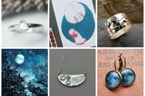 Folksy Friday – Blue Moon