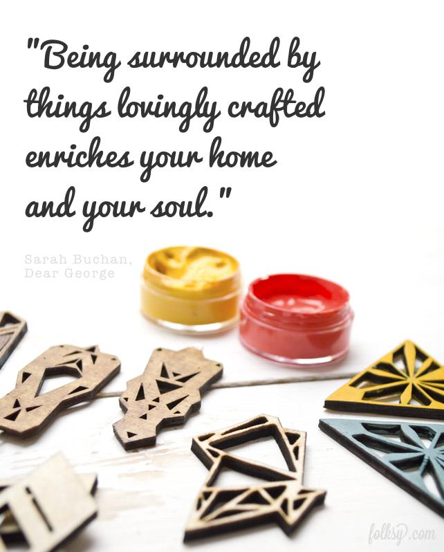 handmade jewellery, wood resin, geometric jewellery, dear george designs