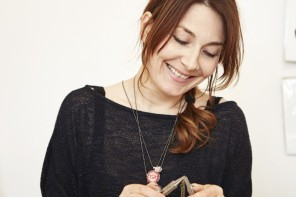 Emma Garner Jewellery: dolls, dragonflies and drawings you can wear