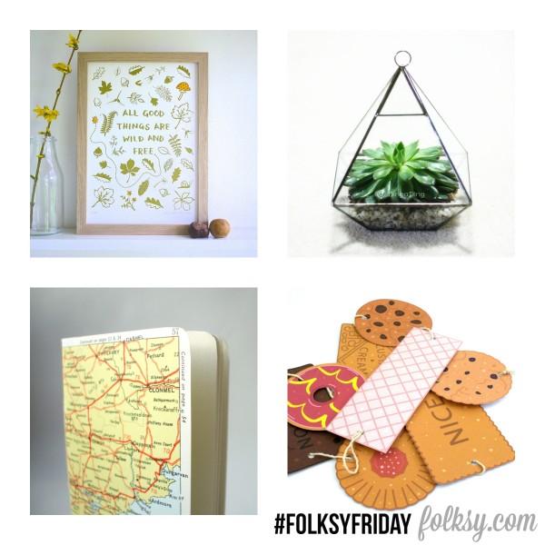 folksy friday summery collage