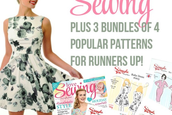 love sewing magazine subscription giveaway