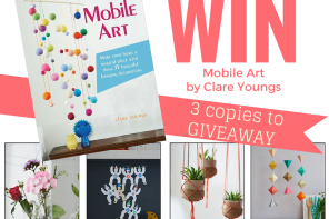 Handmade Mobiles – Plus Win a DIY Mobile Art Book