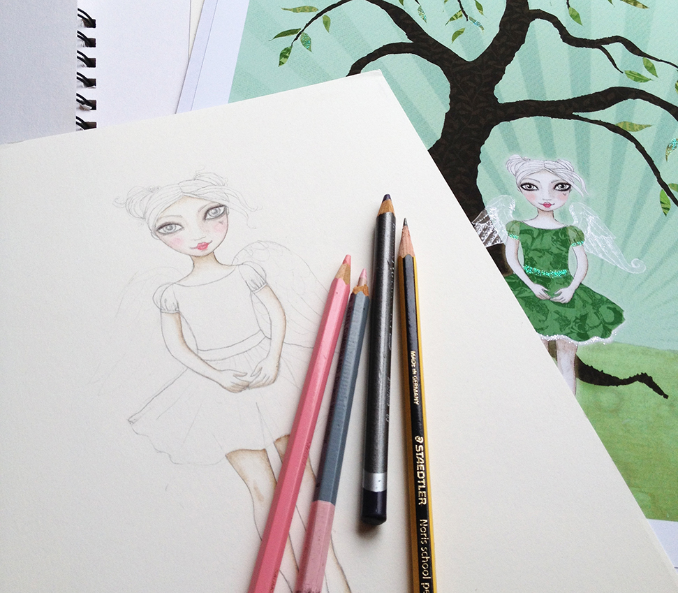 willow fairy in progress