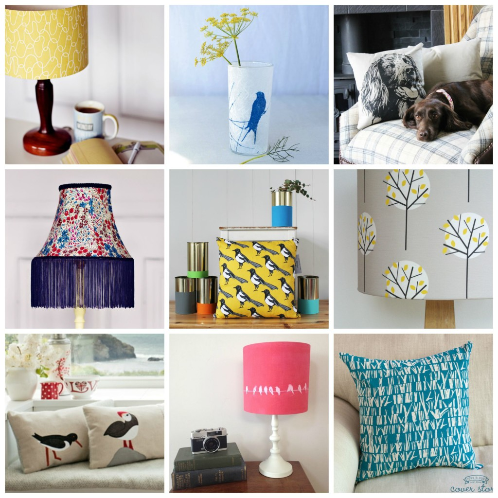 handmade lampshades cushions and homewares