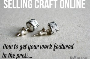Get More Press Coverage for your Crafts and Designs