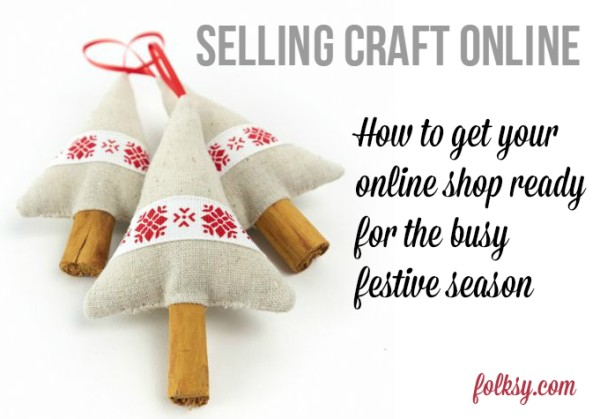 selling craft online at christmas
