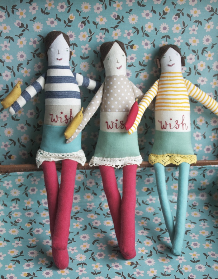 Wishing dolls by Thimbleville