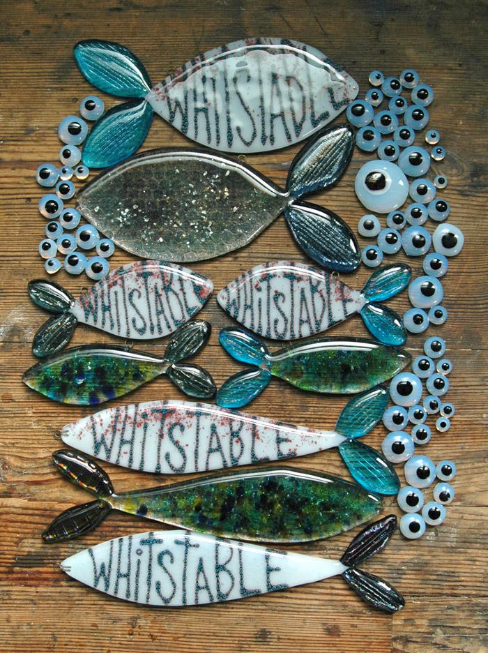 Alma caira, whitstable artist, whitstable glass
