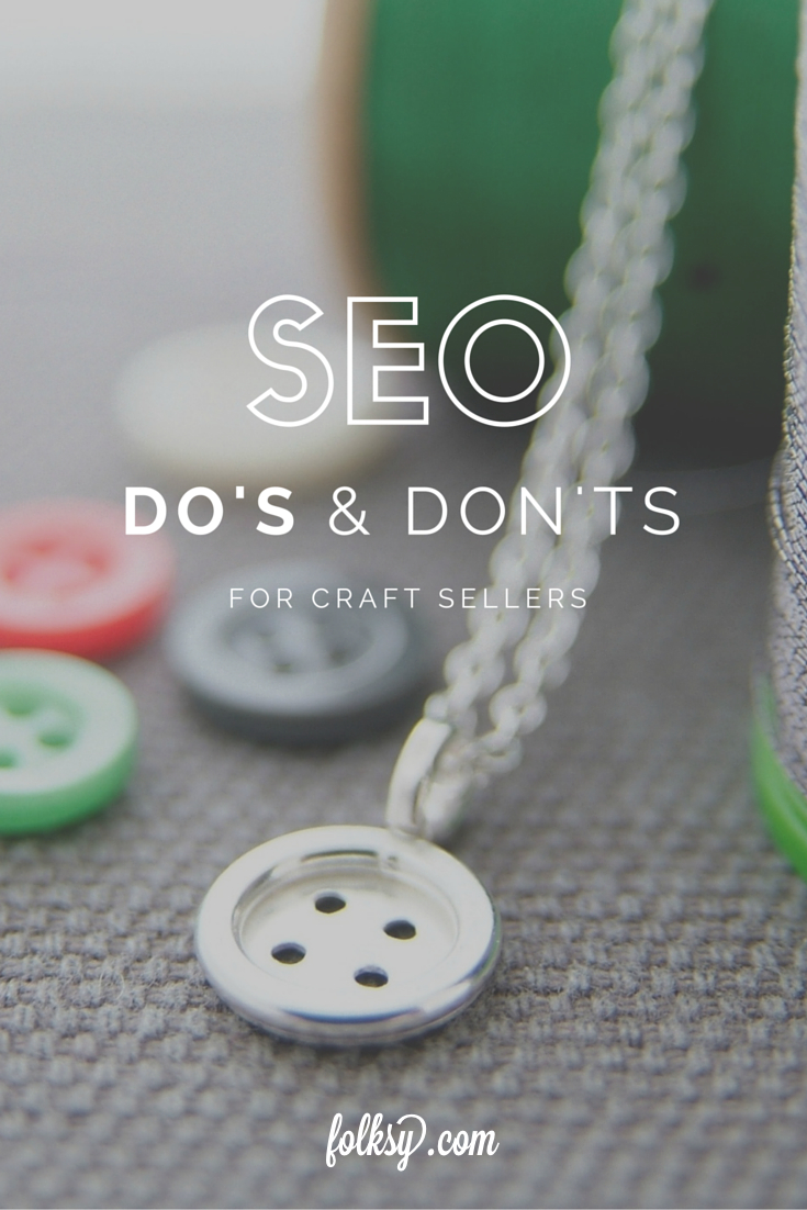SEO Advice for Craft sellers