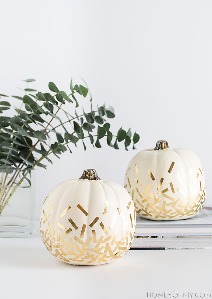 DIY-Gold-Confetti-Pumpkins