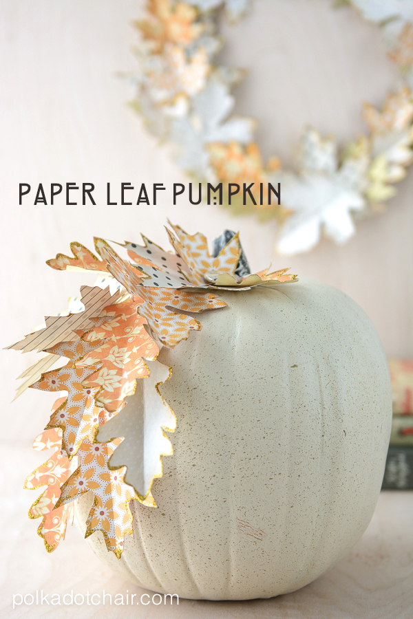 Paper-Leaf-Pumpkin-Project