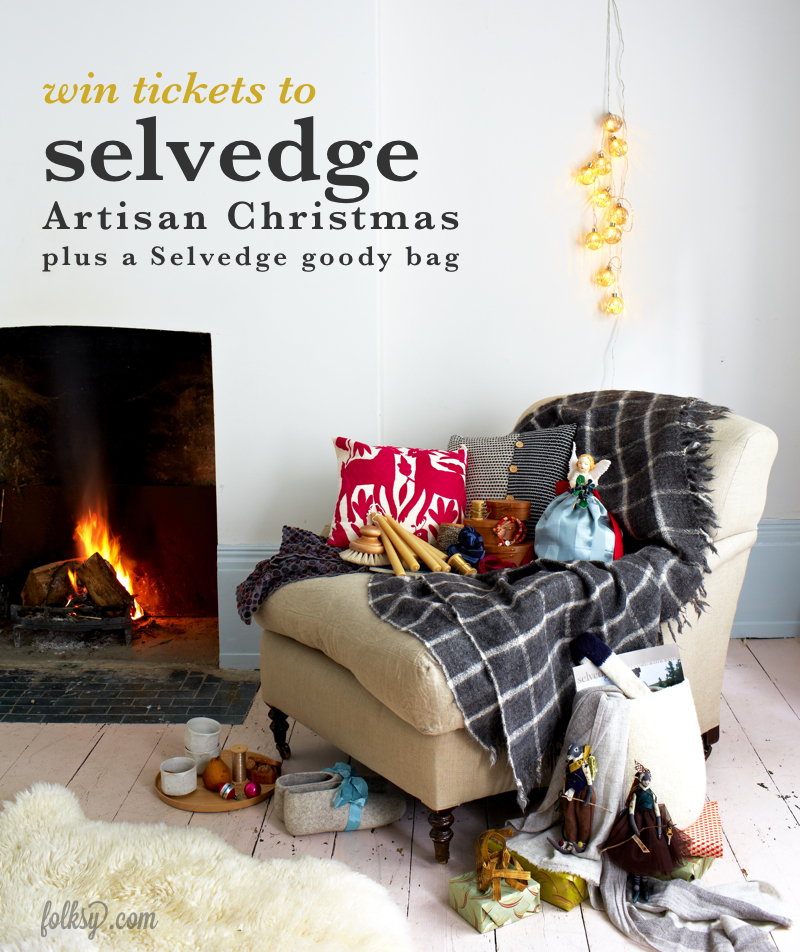 selvedge artisan christmas, competition, win tickets, ticket offer