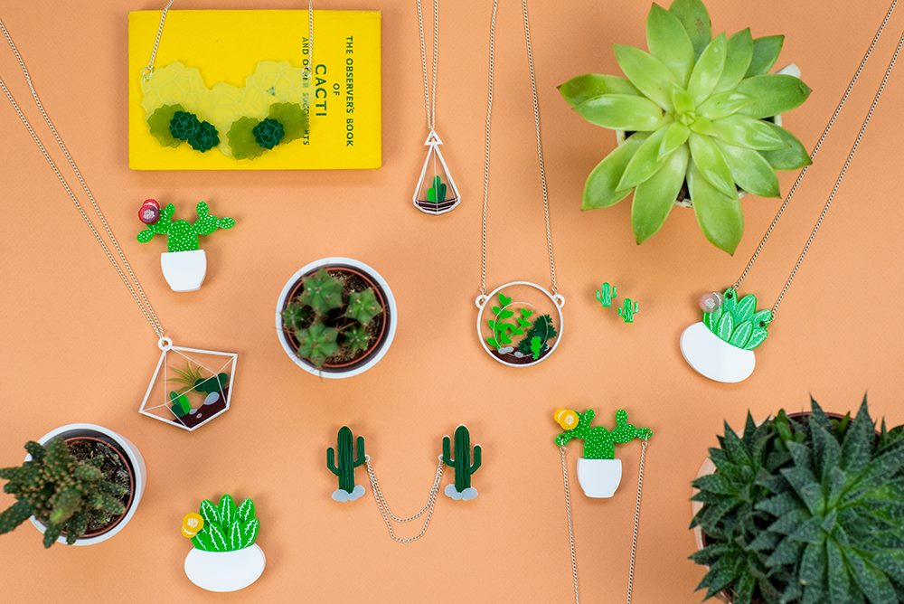 Finest Imaginary, cactus jewellery, Holly Booth,