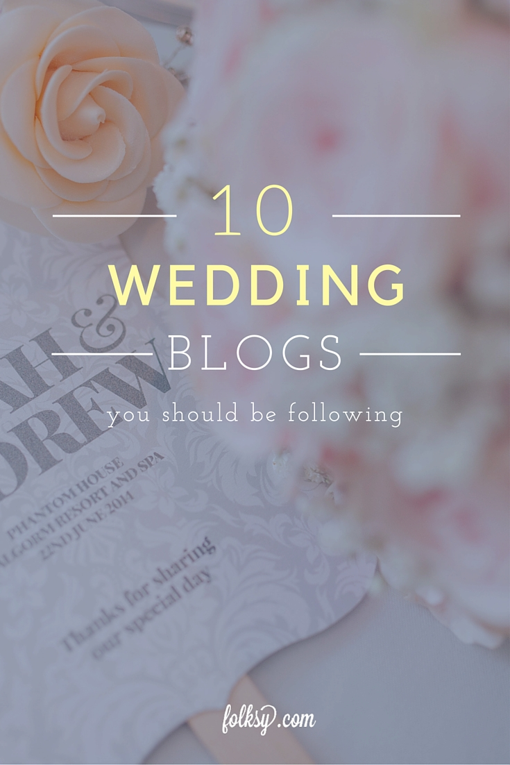 Top 10 UK Wedding Bloggers