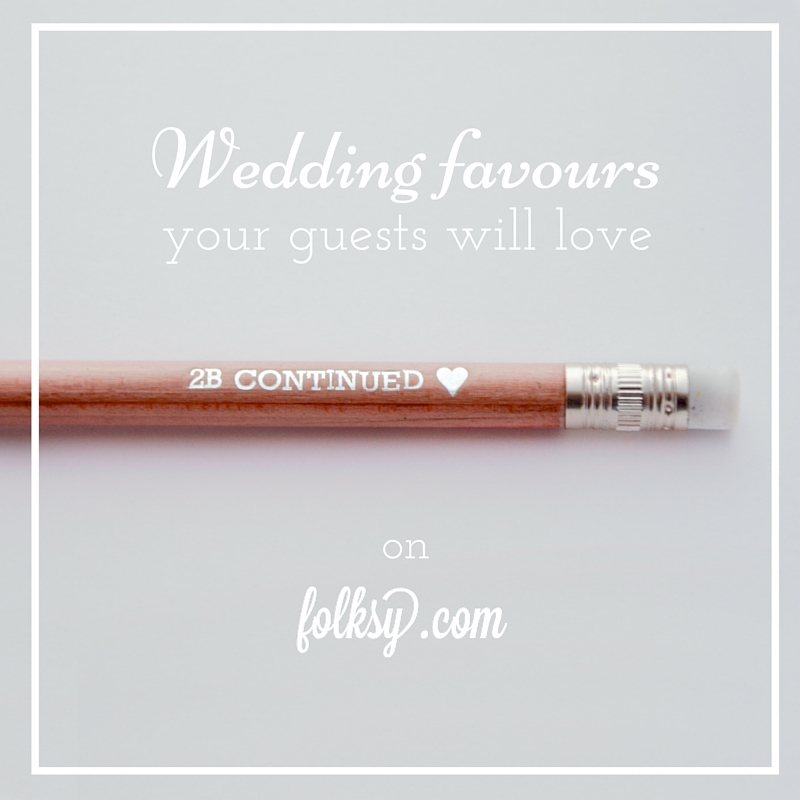 unique wedding favours made in uk
