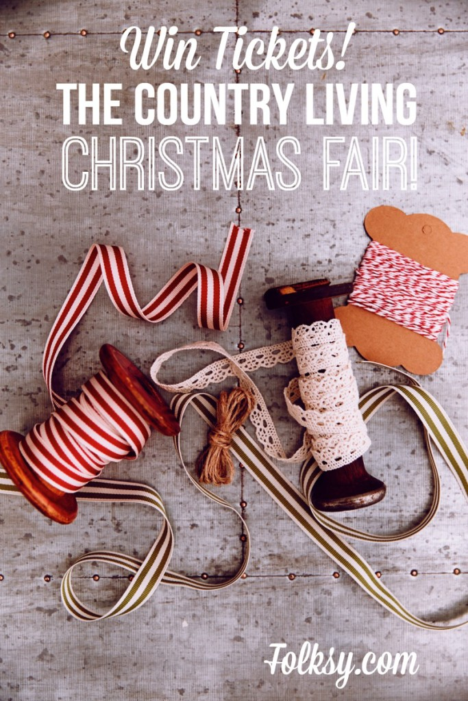 win tickets to the country living christmas fair