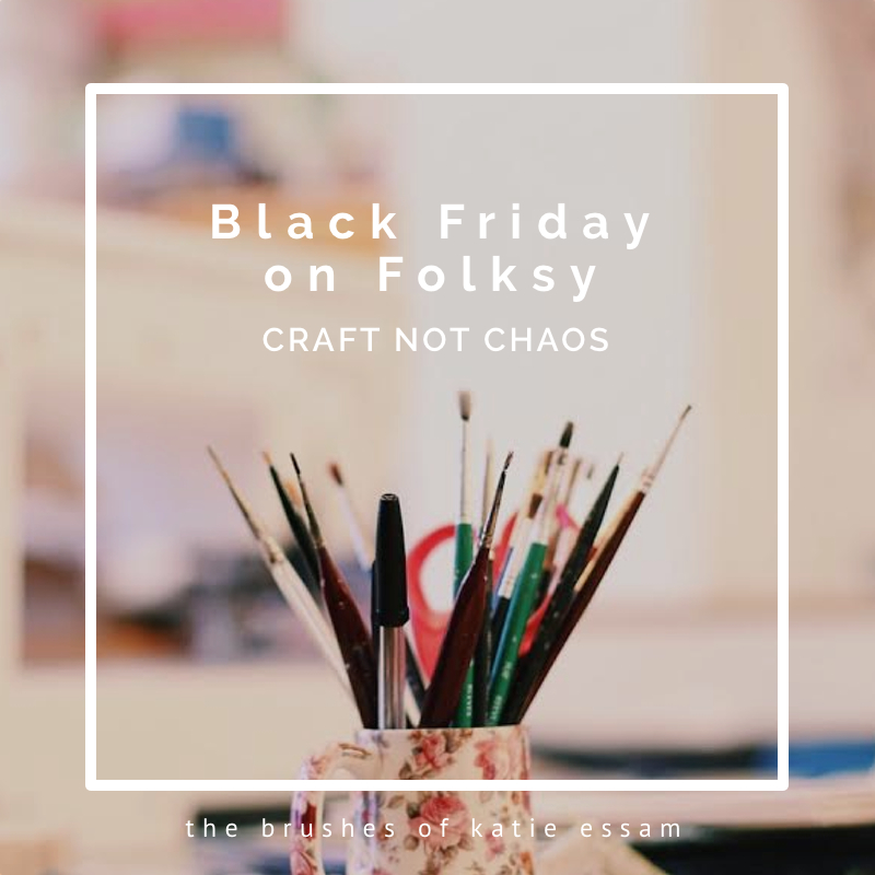 Black Friday on Folksy – Craft not chaos